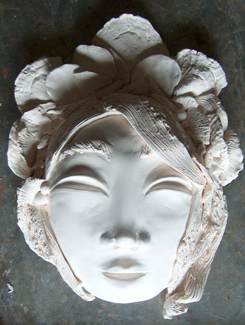 ceramic mask bisque fire