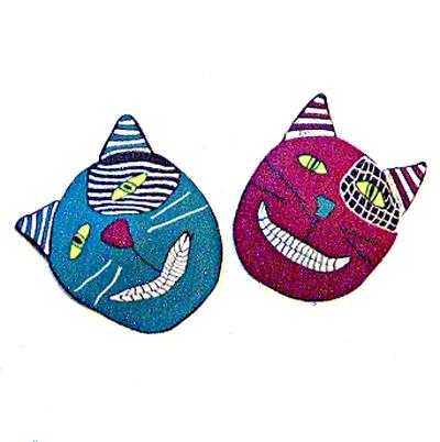 Miniature Mask Swap 2011 Sarajane S Polyclay Gallery