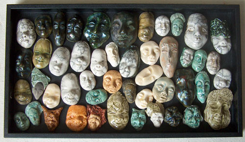 ceramic faces