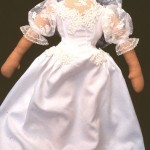 cloth doll bride