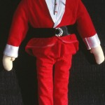cloth doll Santa Claus