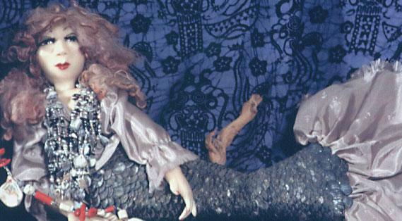 polymer clay mermaid