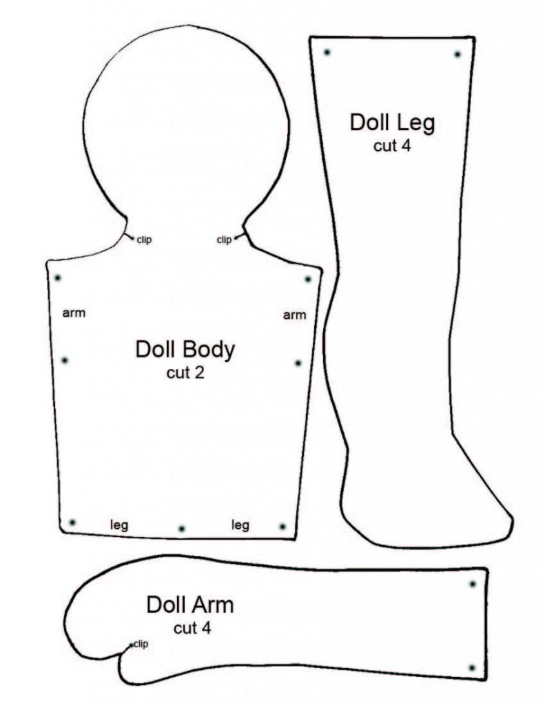 Rag Doll Patterns Free My Patterns | Car Interior Design