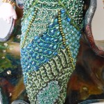 beaded mermaid doll detail Laura Sandoval