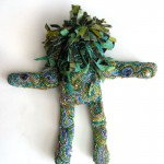 beaded spirit doll Laura Sandoval