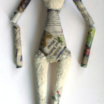 ball joint doll paper covered armature