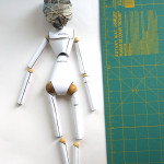 ball joint doll paper armature