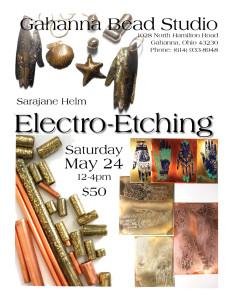 metal etching class